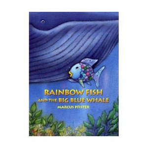 Booktopia rainbow fish and the big blue whale by marcus for Rainbow fish and the big blue whale