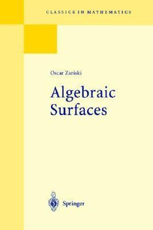 Algebraic Surfaces Oscar Zariski