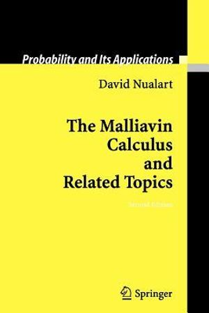 Malliavin Calculus and Related Topics David Nualart