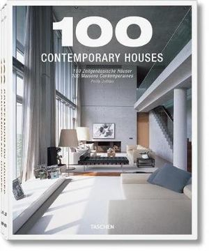Taschen : 100 Contemporary Houses : 2 x Hardcover Books in 1 x Slipcase - Phillip Jodidio