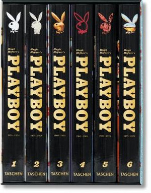 Hugh Hefner's Playboy : 6 x Hardcover Books in 1 x Box Set - Hugh M. Hefner