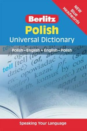 Berlitz : Polish Universal Dictionary - Berlitz Publishing