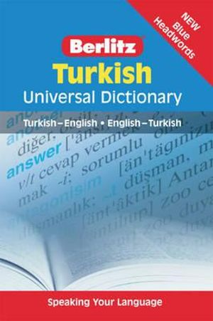 Berlitz : Turkish Universal Dictionary - Berlitz Publishing