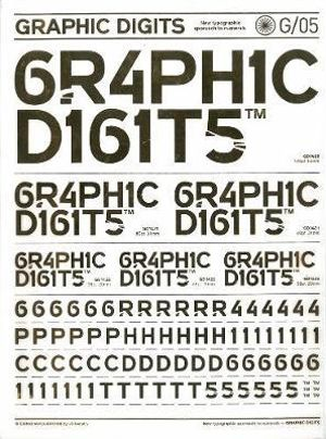 Graphic Digits : Interpreting Numbers in Graphic Form - Viction Workshop