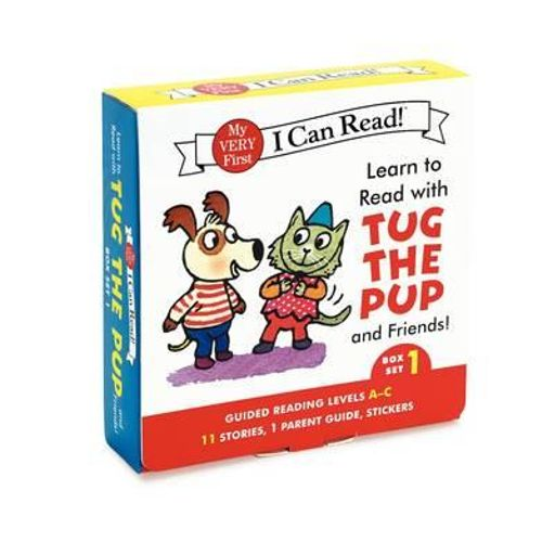 NEW Learn to Read with Tug the Pup and Friends! Box Set 1 By Julie M. Wood