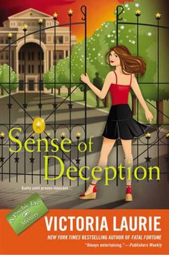 NEW Sense of Deception By Victoria Laurie Hardcover Free Shipping