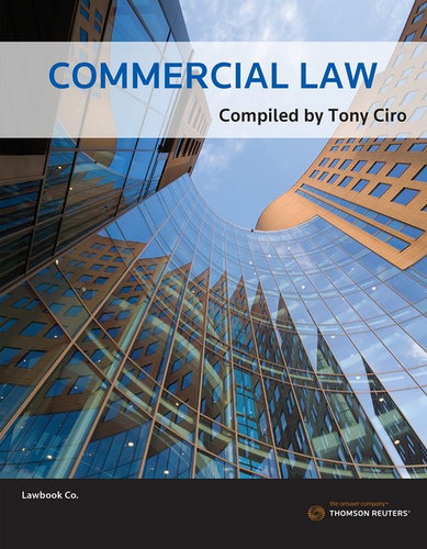 Cover of Commercial Law (ACU)