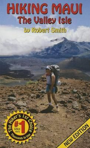 NEW Hiking Maui By Robert Smith Paperback Free Shipping