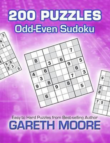 NEW Odd-Even Sudoku By Gareth Moore Paperback Free Shipping