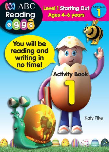 NEW ABC Reading Eggs Activity Book 1 By Katy Pike Paperback Free Shipping