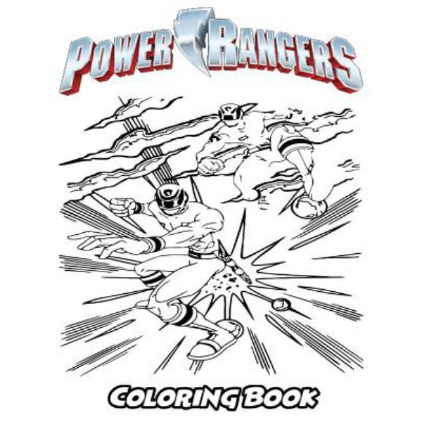 Power Rangers Coloring Book, Coloring Book For Kids And Adults, Activity  Book With Fun, Easy, And Relaxing Coloring Pages By Alexa Ivazewa  9781729830765 Booktopia