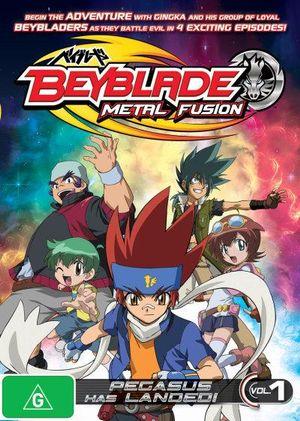 Beyblade Metal Fusion Svenska