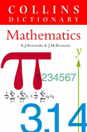 Cover of Dictionary of Mathematics