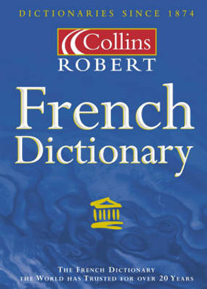 Cover of Collins Robert French-English, English-French Dictionary, Unabridged