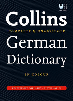 Cover of Collins German Dictionary