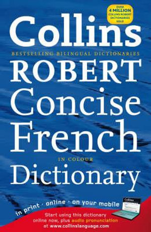 Cover of Collins Robert French Dictionary