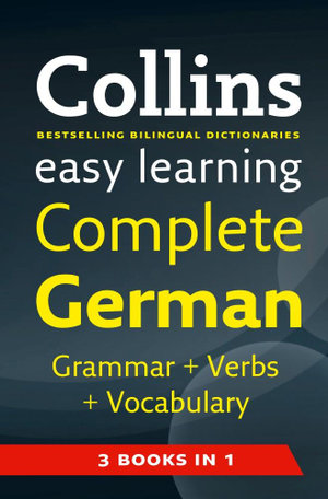 Cover of Collins Easy Learning Complete German
