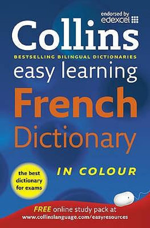 Cover of Collins Easy Learning French Dictionary in Colour