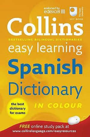Cover of Spanish Easy Learning Dictionary