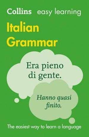 Cover of Collins Italian Grammar
