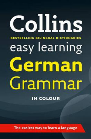 Cover of Collins Easy Learning German Grammar