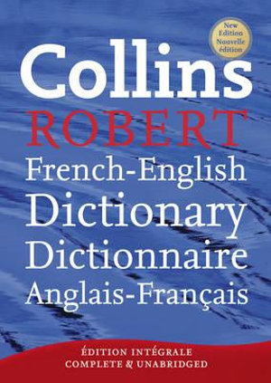 Cover of Collins Robert French-English Dictionary