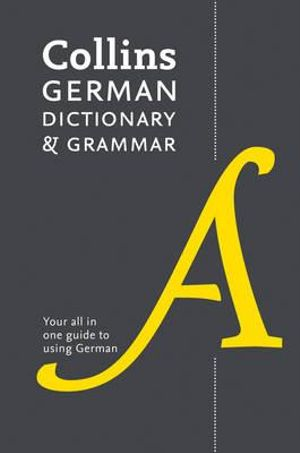 Cover of Collins German Dictionary and Grammar