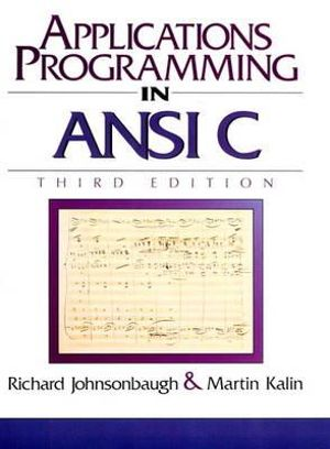 Cover of Applications Programming in ANSI C