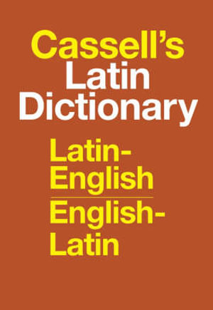 Cover of Cassell's Latin Dictionary