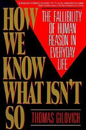 Cover of How we know what isn't so