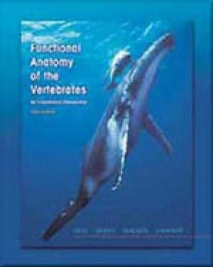 Cover of Functional Anatomy of the Vertebrates : An Evolutionary Perspective