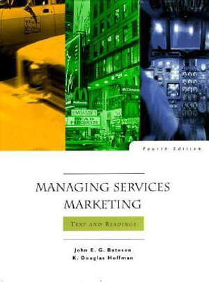 Cover of Managing Services Marketing