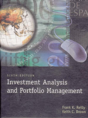 Cover of Investment Analysis and Portfolio Management