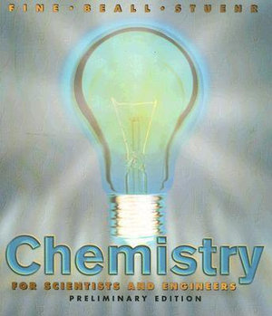 Cover of Chemistry for Scientists and Engineers