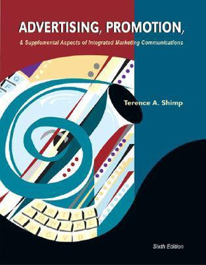 Cover of Advertising, Promotion & Supplemental Aspects of Integrated Marketing Communications