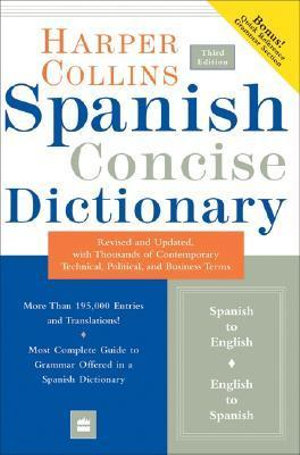Cover of Collins Spanish Concise Dictionary, 3e