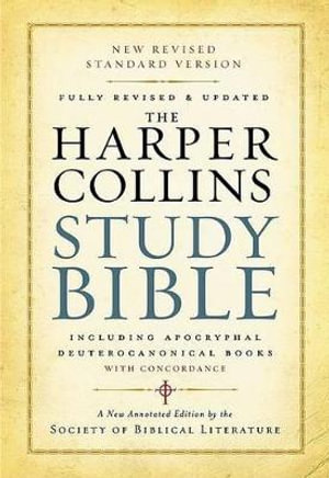 Cover of HarperCollins Study Bible: Fully Revised And Updated