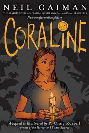 Cover of Coraline Graphic Novel