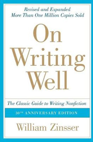 Cover of On Writing Well, 30th Anniversary Edition