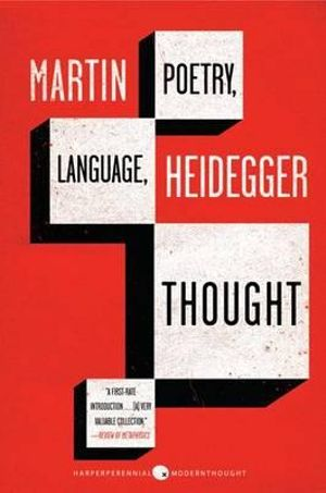 Cover of Poetry, Language, Thought