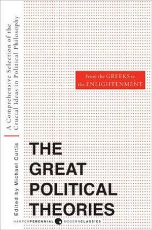 Cover of Great Political Theories V.1
