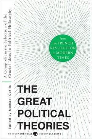 Cover of Great Political Theories V.2