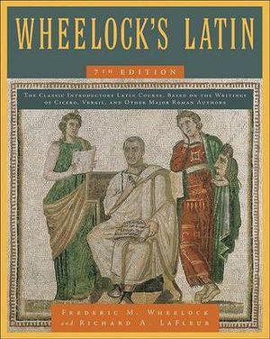 Cover of Wheelock's Latin 7th Edition