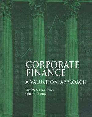 Cover of Corporate Finance: A Valuation Approach