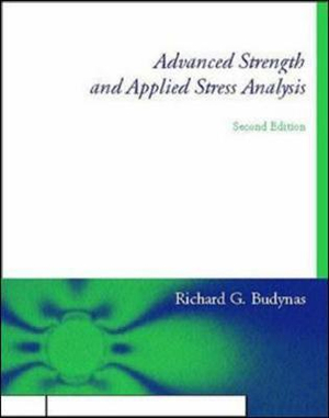 Cover of Advanced Strength and Applied Stress Analysis
