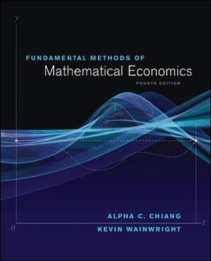 Cover of Fundamental methods of mathematical economics