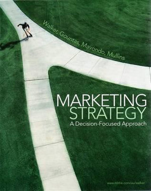 Cover of Marketing Strategy: A Decision-Focused Approach