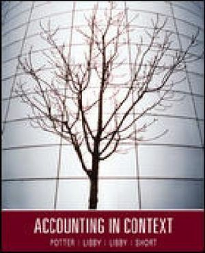 Cover of Accounting In Context