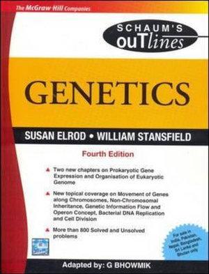 Cover of Genetics 4E (Sie)