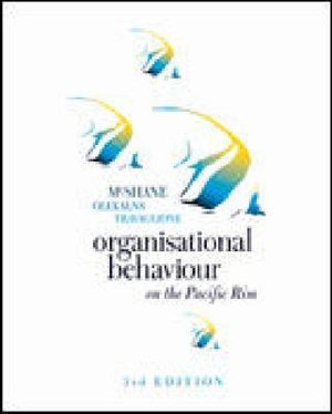Cover of Organisational Behaviour on the Pacific Rim
